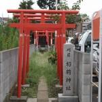 川岸稲荷神社(東京都江戸川区)