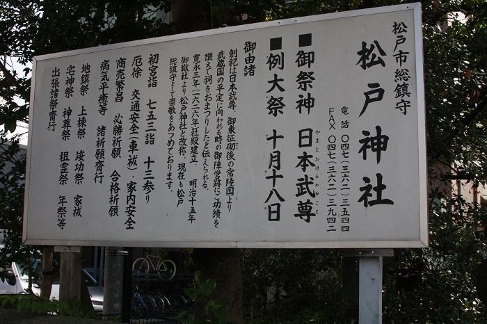 松戸神社の由来