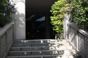 雉子神社の階段